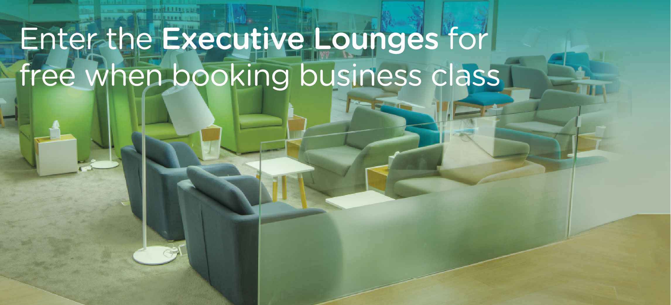 Welcome Lounge Business Landing Page Large en